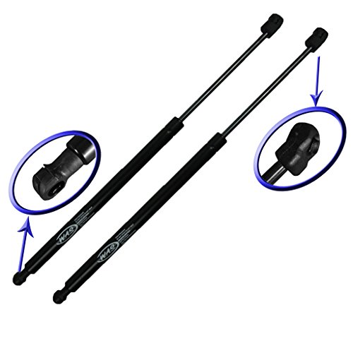 Two Front Hood Gas Charged Lift Supports for 2004-2015 Nissan Armada, 2004-2013 Nissan Titan. Left and Right Side. WGS-227-2