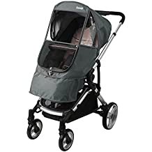 Manito Elegance Beta Stroller Weather Shield / Rain Cover (Grey)