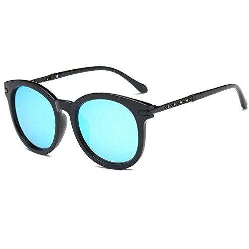 Aoligei Lunettes de soleil hommes et femmes vrai miroir de conduite de la Dame de couleur lunettes de soleil C