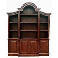 D-ART COLLECTION Arch Top Bookcase
