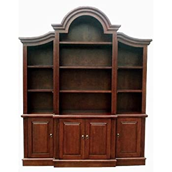 D ART COLLECTION Arch Top Bookcase