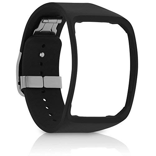 Samsung Galaxy Gear S Strap Watch Replacement Band ET-SR750 - Black - Non-Retail Packaging ()