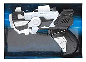 Space Gun 858-27B Plant Fighter For Boys-Black, 3 Years