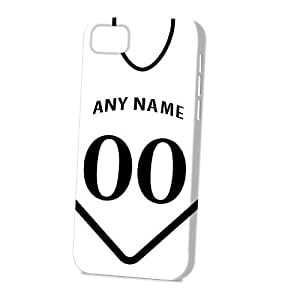 linJUN FENGCase Fun Apple iphone 4/4s Case - Vogue Version - 3D Full Wrap - Personalised Swansea City Football Shirt, Any Name, Any Number