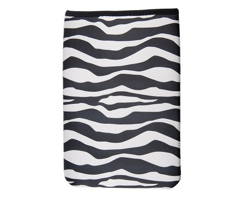 OP/TECH USA 4642751 Smart Sleeve 751, Neoprene Sleeve for Kindle DX (7.5 x 11.2), Zebra