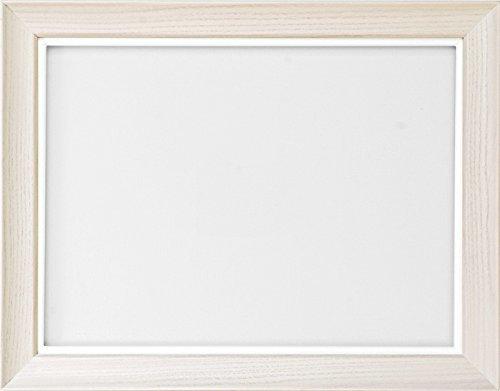 同志舎 油彩用額縁 キュート アクリル仕様 壁用フック付 (F20, 乳白) B07BC4WPT3 F20|乳白 乳白 F20
