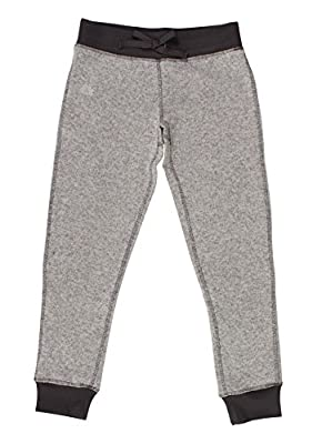 RBX Active Girl's Grey Hacci Knit Joggers