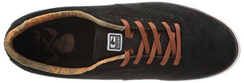 Der Sabbat-Skate-Schuh der Kugel-Männer Schwarze Schlange