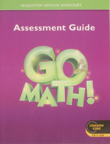 Go Math!: Assessment Guide Grade 3