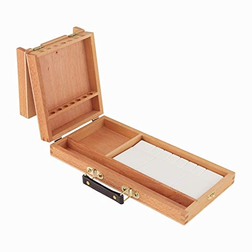Creative Mark Turner Watercolor Box - Travel Box for Carrying Watercolor Art Supplies & Plastic Watercolor Palette [13