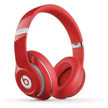 Beats Studio 2.0 Wired Over-Ear Headphone - Red