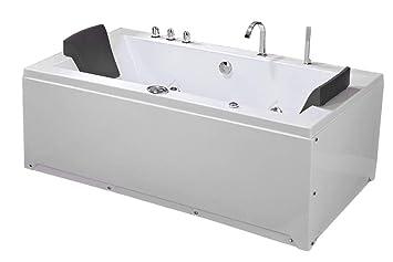 Vasca Da Bagno Rettangolare : Whirlpool vasca da bagno jacuzzi idromassaggio doccia a doppia