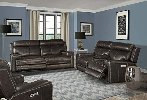 - Parker Living - Glacier Graphite 2 Piece Power Reclining Sofa Set - MGLA#832PH-822CPH-GRA