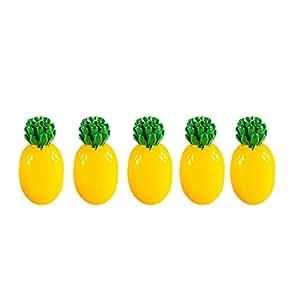 Magideal Accesorios resina piña de la zanahoria manualidades Micro paisaje jardín planta decoración, Pineapple, as described