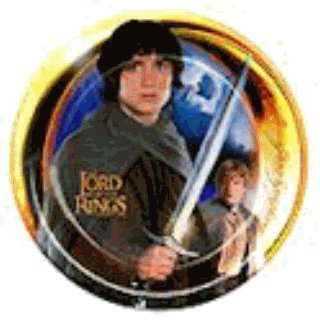 Lord of the Rings Small Paper Plates (Lord Of The Rings Party Supplies)