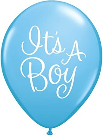 Party- & Eventdekoration 11 pc Its a Baby Boy Foot Balloon Bouquet Decoration Welcome Home Shower Footsie