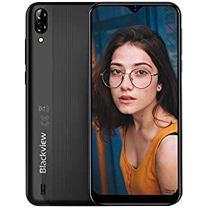 Mobile Phone, Blackview A60 Smartphone SIM Free Android Phones Unlocked, 6.088 inches Waterdrop Full-Screen, 4080mAh…