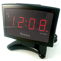 Westclox 70014 Plasma LED Digital Alarm Clock