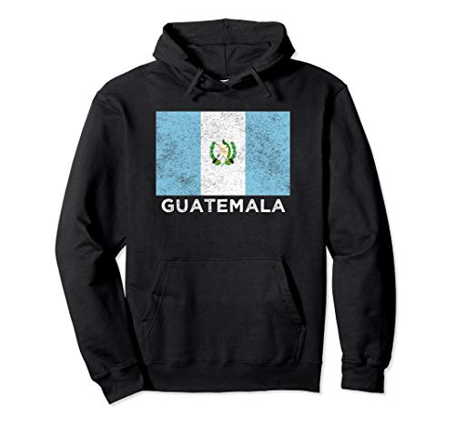 Guatemala National flag - distressed Hoodie for men & women