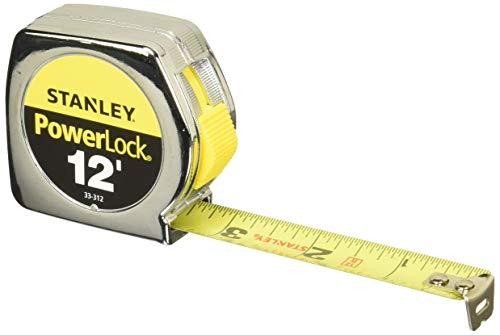 Stanley 33-312 12 Powerlock Tape Rule (10' Saw Contractors)