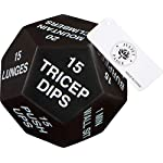 NATARIFITNESS..COM  41ma1PI3%2BFL._SS150_ Juliet Paige Exercise Dice for Home Fitness, Workouts, Crossfit WOD, Cardio, HIIT, and Sports