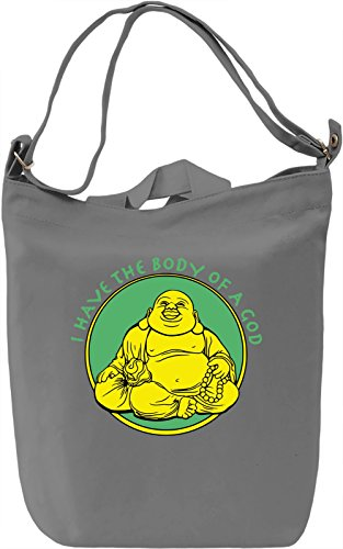 I Have The Body Of A God Borsa Giornaliera Canvas Canvas Day Bag| 100% Premium Cotton Canvas| DTG Printing|