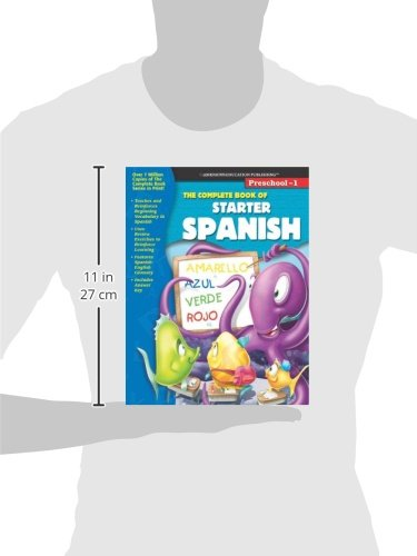 Workbook 4th grade spanish worksheets : The Complete Book of Starter Spanish (Spanish and English Edition ...