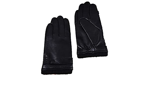 CWJ Gloves Male Touch Screen Thick Warm Driving
