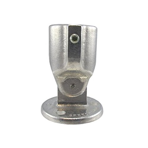 1-1/4'' Speed Rail Adjustable Flange Fits Pipe O.D. 1-5/8''