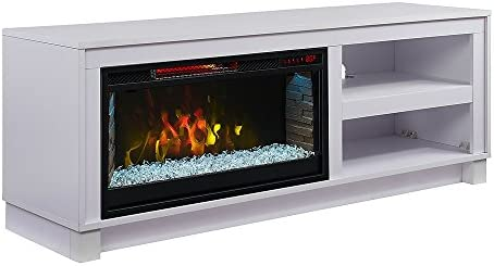 Superb Comfort Smart Cameron Electric Fireplace Tv Stand White Interior Design Ideas Oteneahmetsinanyavuzinfo