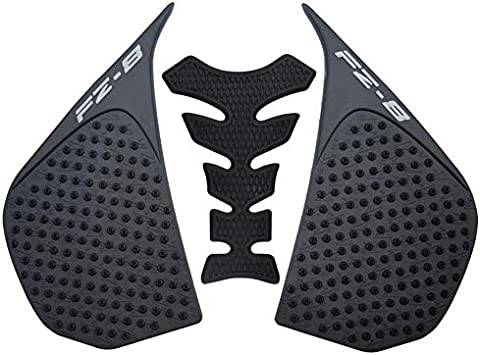 Kyn Für Yamaha Fz8 N S Fz8n Fz8s 2010 2011 2012 2013 2014 2015 2016 Motorrad Transparent 3m Gas Tank Pad Anti Rutsch Aufkleber Seite Fuel Gas Grip Decal Protector Auto