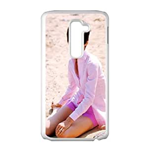 LG G2 Cell Phone Case White Audrey Hepburn Silicone Cell Phone Covers DFB