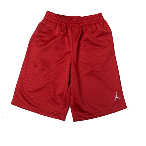 Shorts Jordan Air Basketball (Boys Nike Air Jordan Mesh Athletic Basketball Shorts (Little Boys 5, Gym Red))