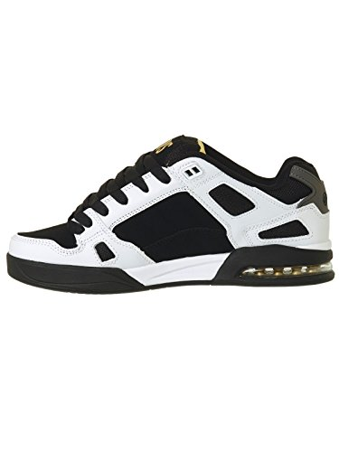 DVS Drone Soft Comfort White Black Leather Nubuck White