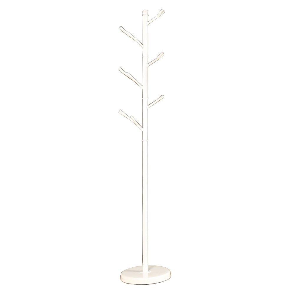 Iron Coat Rack / Bedroom Hangers / Hangers Floor / Hang Clothes Racks / New Chinese Hanging Hangers (320 1750mm) ( Color : White )