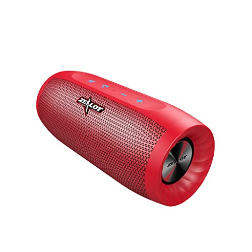Aobiny Bluetooth Speaker,Waterproof Bluetooth Speaker,Portable Bluetooth Speaker,ZEALOT S16 HIFI Bluetooth Speaker Super Bass Wireless Stereo Soundbar AUX TF Card Play Outdoor Handsfree With Mic Touch ()