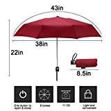 Goothdurs Automatic Mini Travel Windproof Umbrella