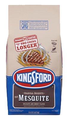 - Kingsford Charcoal 14.6LB Mesquite Briquette