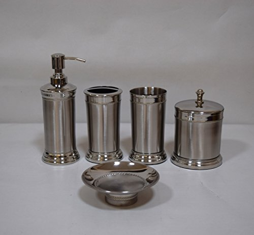 5-pc-beaded-stainless-steel-bath-accessory-set