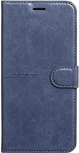 Kaiyue Flip Leather Full Cover for Oppo F9 - Blue