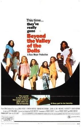 Más Allá De El Valle De Las Muñecas Movie Poster 11 X 17 Master Impresión Home Kitchen