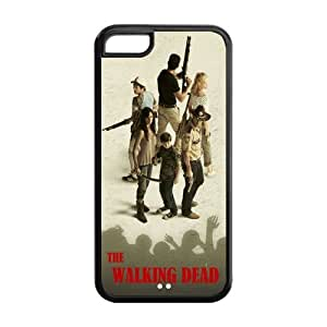 Custom Walking Dead Back Cover Case for iphone 5c iphone 5c LLCC-496