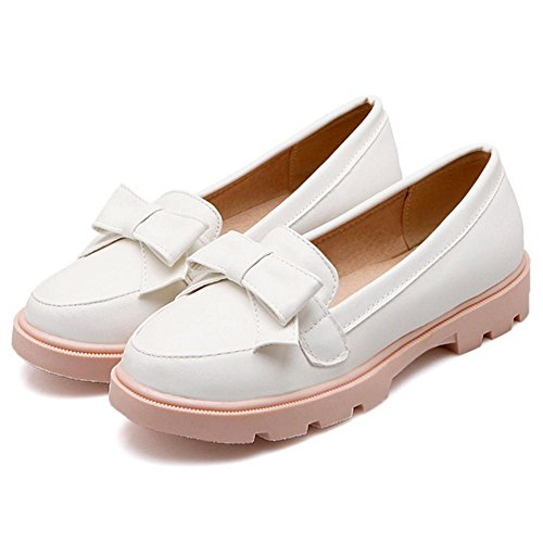 Shoes Pumps On Slip FizaiZifai White Women tBwIaa
