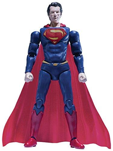SpruKits DC Comics Man of Steel Superman Action Figure Model Kit, Level 2
