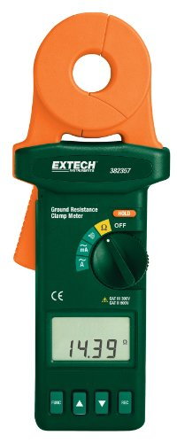 Extech 382357 Clamp-on Ground Resistance Tester by Extech