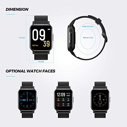 SoundPEATS Watch 1 Smartwatch Reloj Inteligente IP68 con Pantalla Táctil de 1.4\