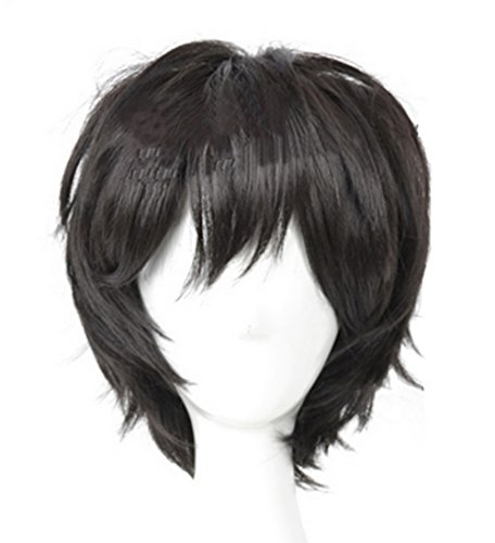 [Xcoser Cool boys Wig Hair for Cosplay Costumes] (Cool Costumes For Boys)
