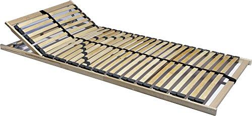 7-Zonen-Lattenrost-90x200-ODER-140x200-cm-28-Leisten-Hrte-und-Kopfteil-verstellbar-mit-Mittelgurt-180-kg-EINFHRUNGSPREIS