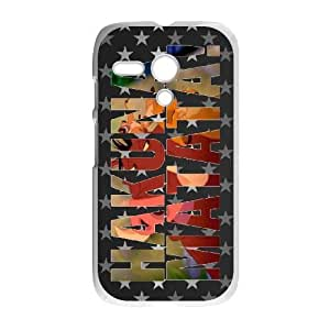 Motorola G phone cases White Hakuna Matata fashion cell phone cases YRTE0206390