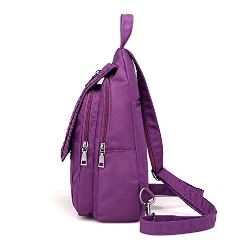 Bag Bag Chest Backpack Widewing Vintage Women Handbag Bag Functional Multi Shoulder 71xwvFxq